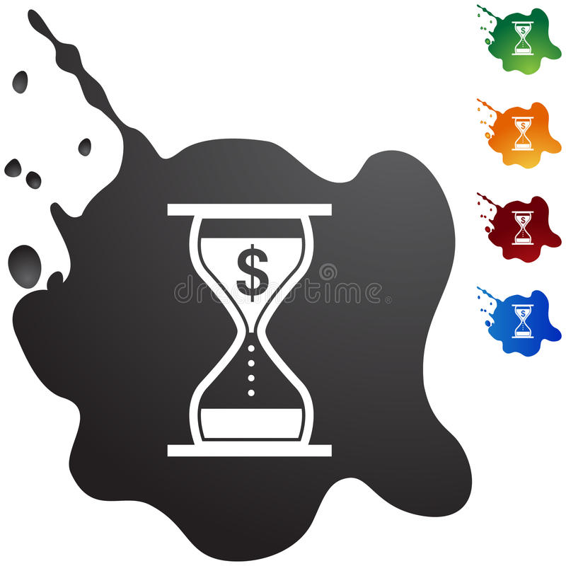 Interest Rate Charges stock illustration