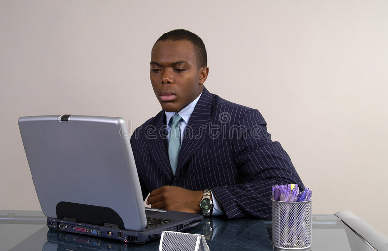 Download Interesting stock photo. Image of pens, african, businessman - 438990