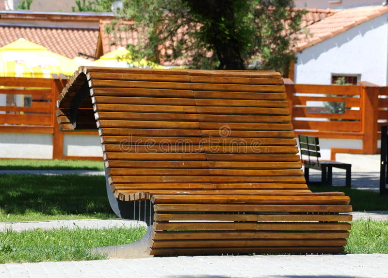 Download Interesting bank stock photo. Image of wooden, bench - 25035518