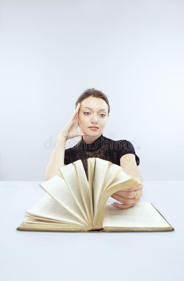 Interesting book royalty free stock images