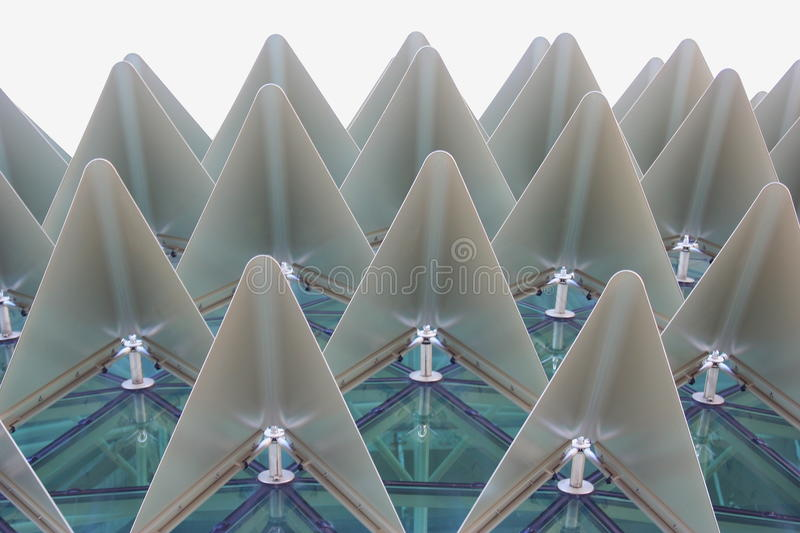 Interesting building Structure. Singapore interesting modern building structure royalty free stock photography