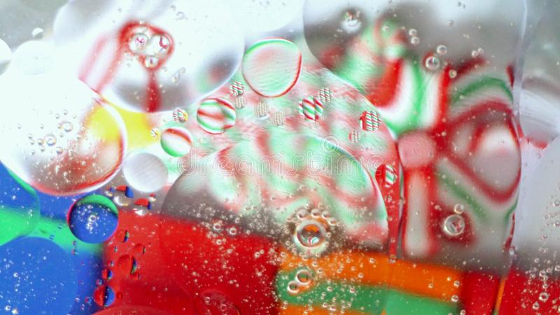 Interesting colorful abstract background royalty free stock photography