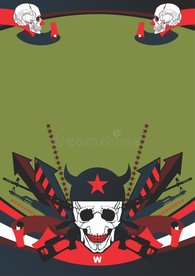 Download Interesting Composition On The Military Theme Stock Vector - Image: 17248509