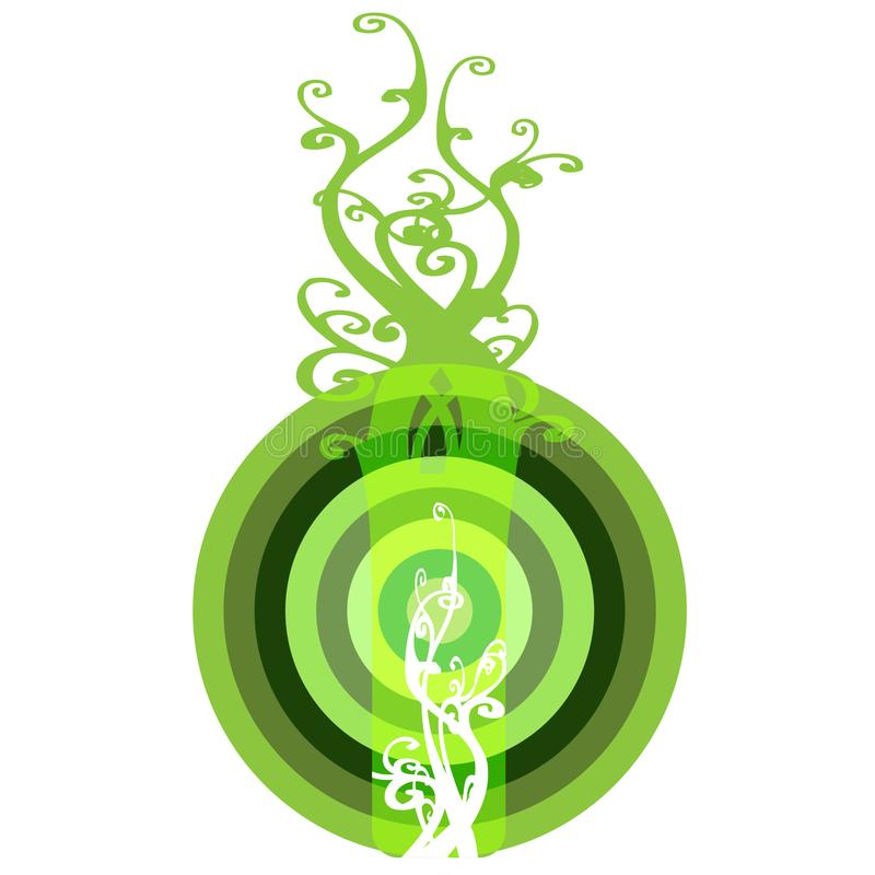 Download Interesting Eco Button Bullzeye Stock Illustration - Illustration of recycling, recycle: 6633084
