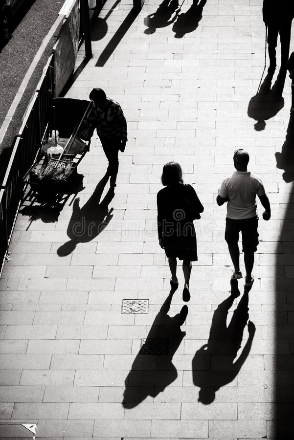 Free Interesting Light And Shadow Photography Of Everyday Life On The Street Of Hong Kong Stock Photos - 134662363