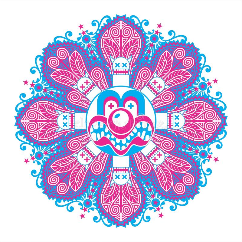Download Interesting Symmetric Composition Stock Vector - Image: 17248529