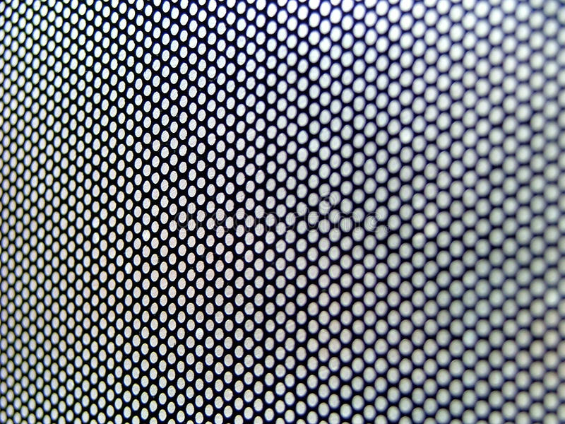Download Interesting Thin Metallic Perforated Surface Stock Image - Image: 11478321