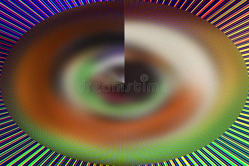Interesting unique abstract multicolored background. Unique interesting multicolored abstract background royalty free stock photo