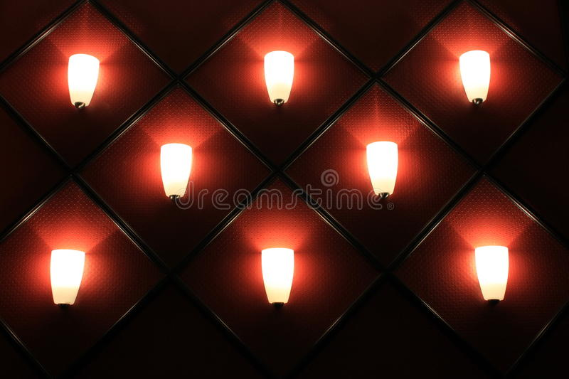 Download Interesting Wall Of Soft Lighting Stock Image - Image: 25788193