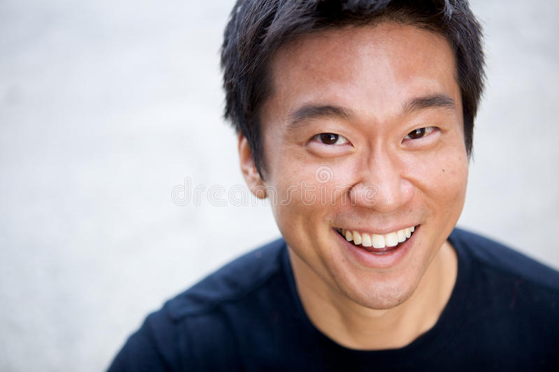 Interestng Asian Man stock images