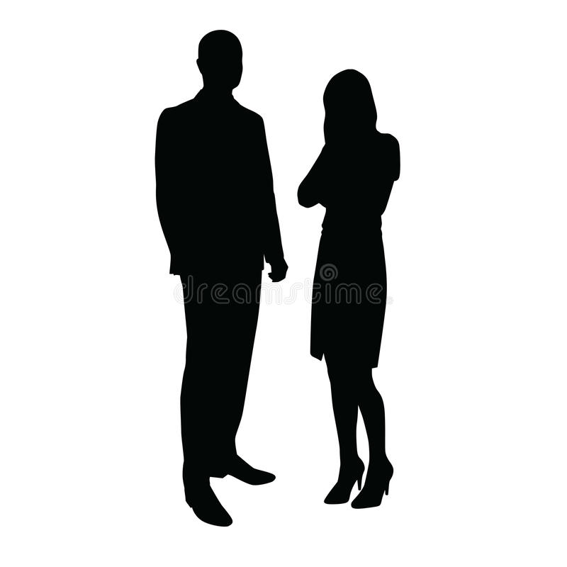 interesy ilustracyjni ludzie jpg położenie Mężczyzna opowiada kobieta ilustracji