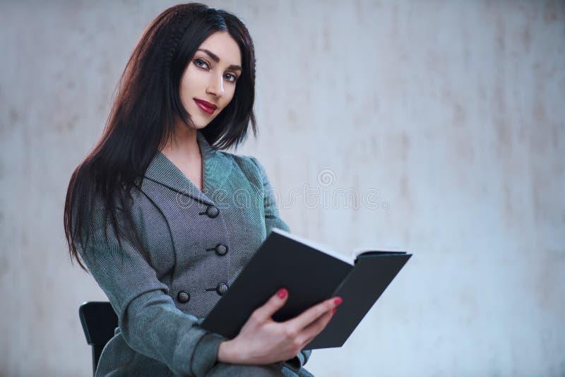 interesy portret kobiety young zdjęcie stock