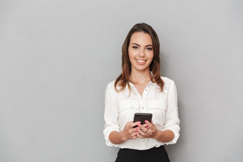 interesy portret kobiety young szczęśliwi zdjęcia stock