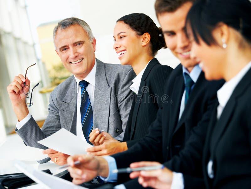 interesy różnych spotkanie grupy zdjęcie royalty free