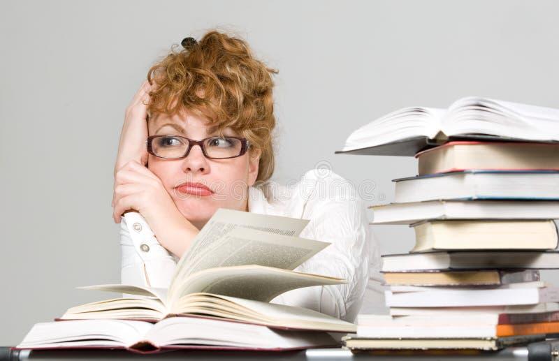 interesy studing obraz stock