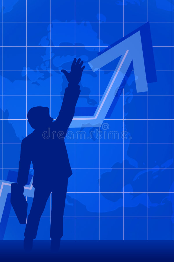 interesy succes ilustracja wektor