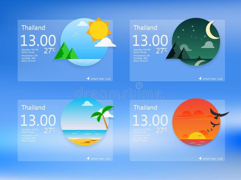 Interfaccia utente illustrazione di stock