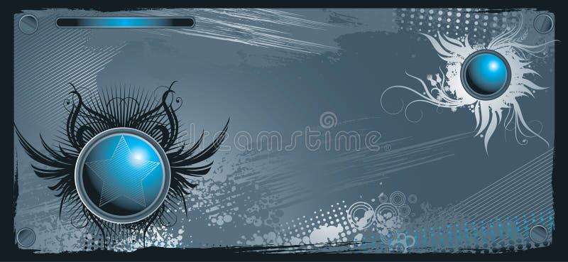 Interface background. Fashion interface pattern design background royalty free illustration