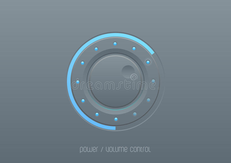 Interface control for touch screen stock illustration