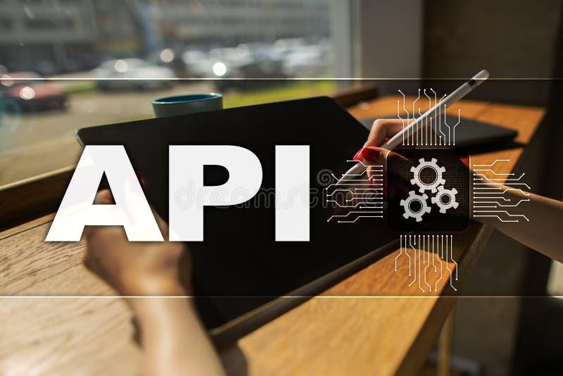 Interfaz de programación de uso API Concepto del desarrollo de programas imagenes de archivo