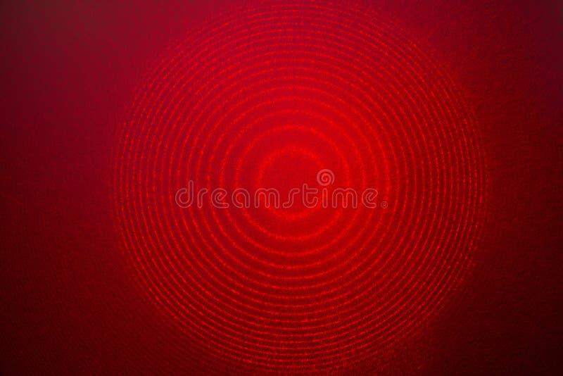 Interferência vermelha do laser fotografia de stock royalty free
