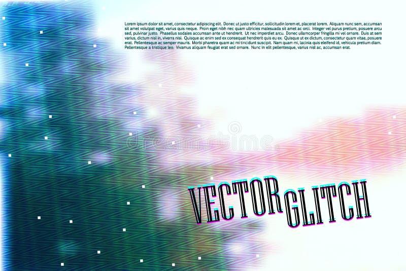 Interferencia de la pantalla del día de verano ilustración del vector