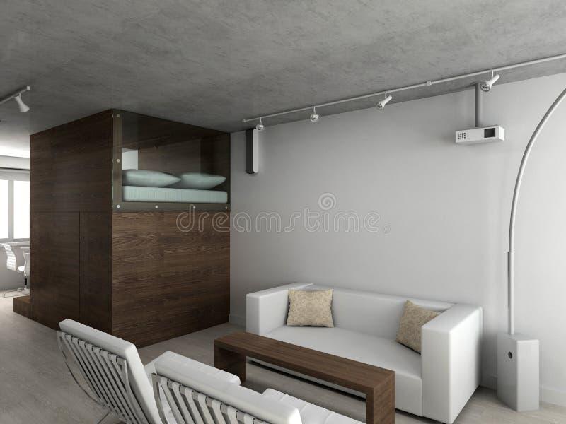 Interioir Of Modern Living Room Royalty Free Stock Image Image 10087346