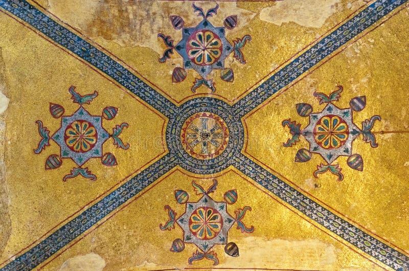 Interior 03 de Hagia Sofía imagenes de archivo