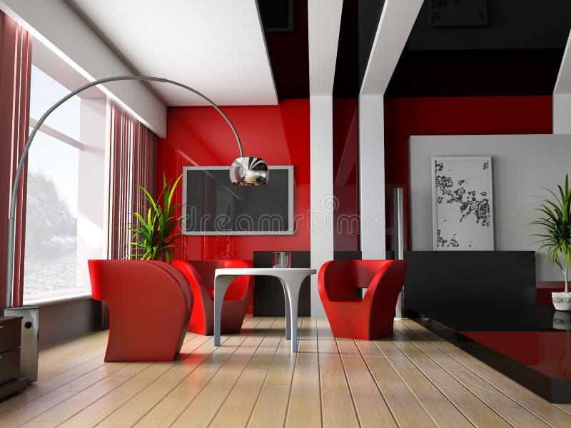 Interior 042 vector illustration