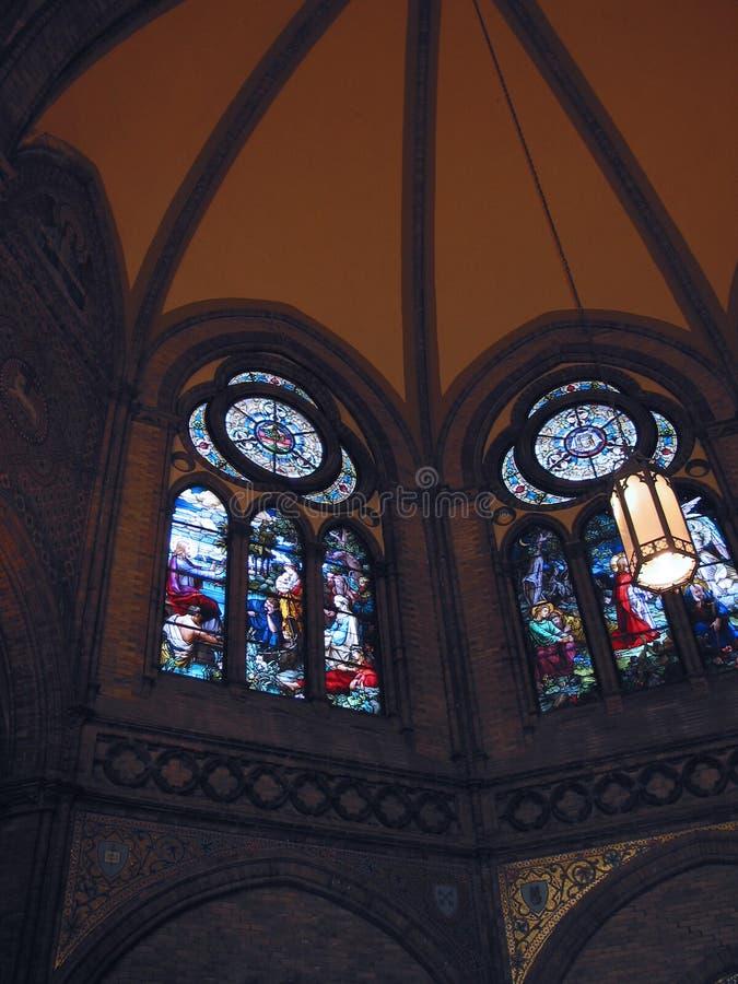 Interior 1 De La Iglesia Fotografía de archivo libre de regalías