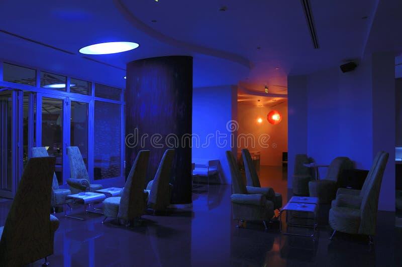 Interior 12 do hotel imagens de stock