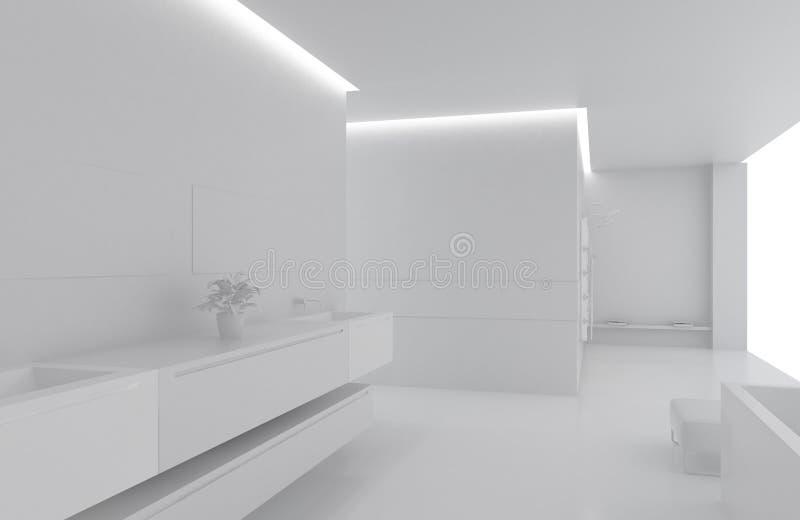 Interior ilustração do vetor