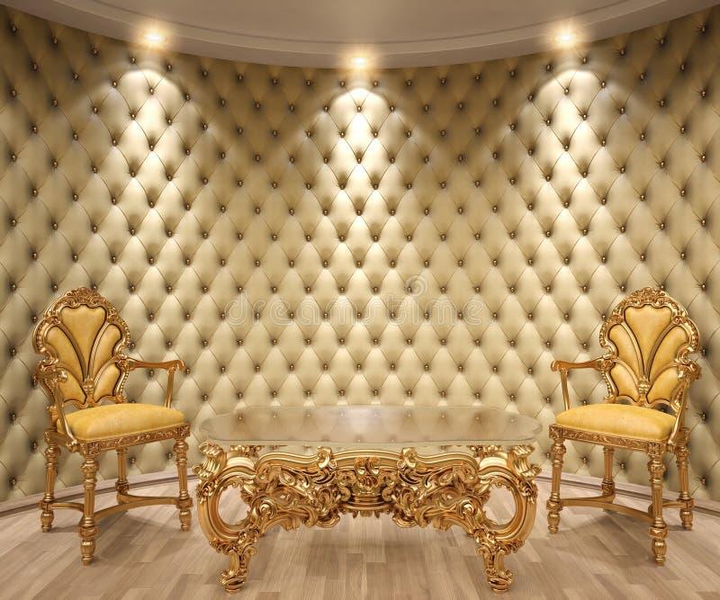 Interior ilustração royalty free