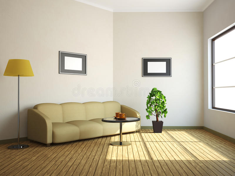 Download The interior stock illustration. Image of lifestyles - 24867718