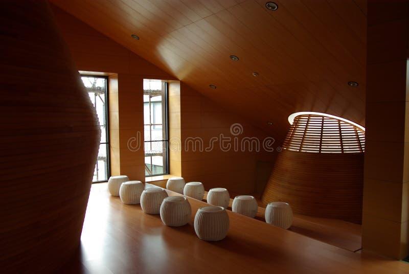 Tongji University interior stock image