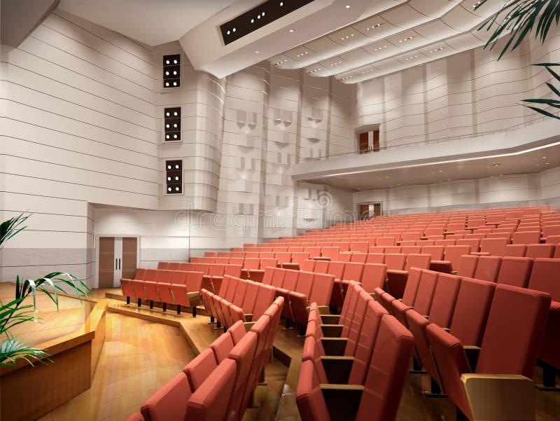 interior 3D ilustração royalty free