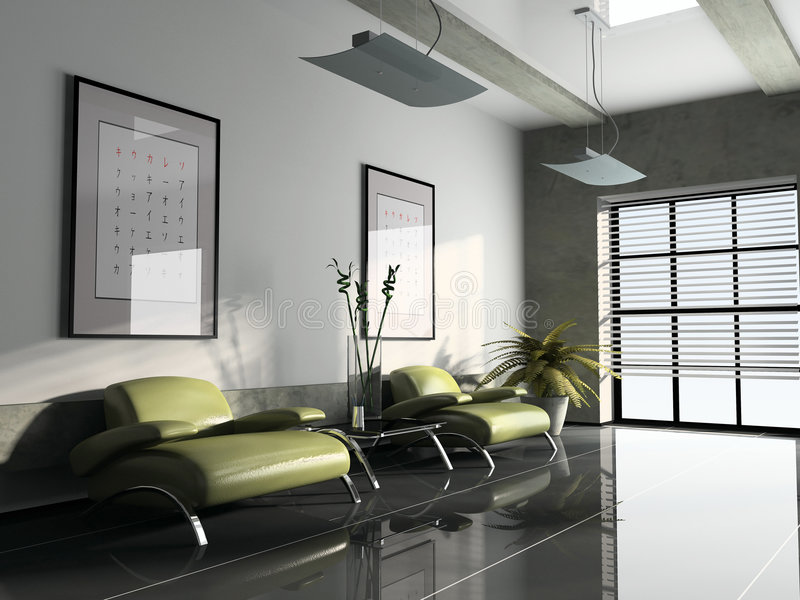 Download Interior 3D Rendering Royalty Free Stock Photography - Image: 2305927