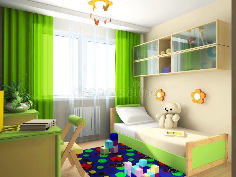 Interior ilustración del vector