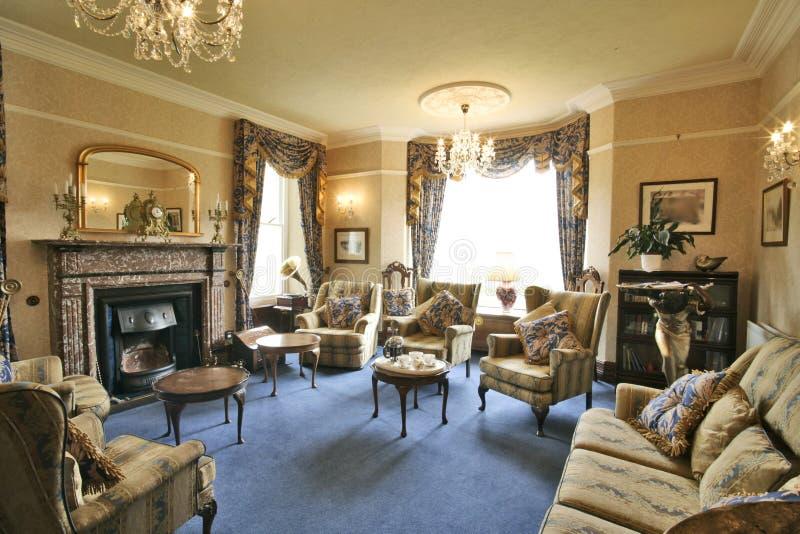 Interior. Luxury reception room