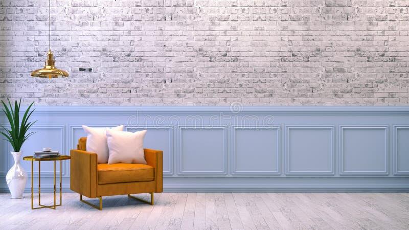 Interior 12 ilustração stock