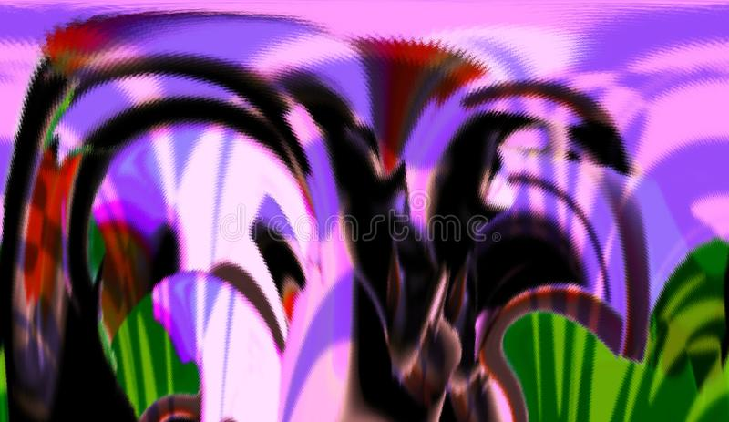 Abstract. Art. Painting. Graphic. Abstraction. Picture. Interior Abstract Abstraction Art Design Styling Imagination Graphic Dynamic Harmony Inspiration Fantasy stock illustration