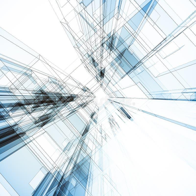 Download Interior abstracto stock de ilustración. Ilustración de wide - 42439930