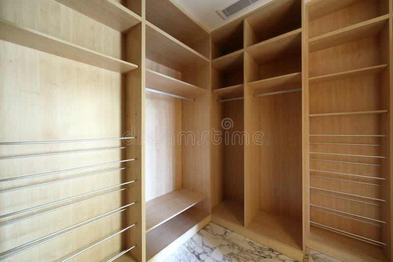 Interior agradável do vestiário brilhante fotos de stock royalty free