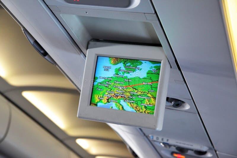 Download Interior of airplane stock photo. Image of passenger, flight - 9754988