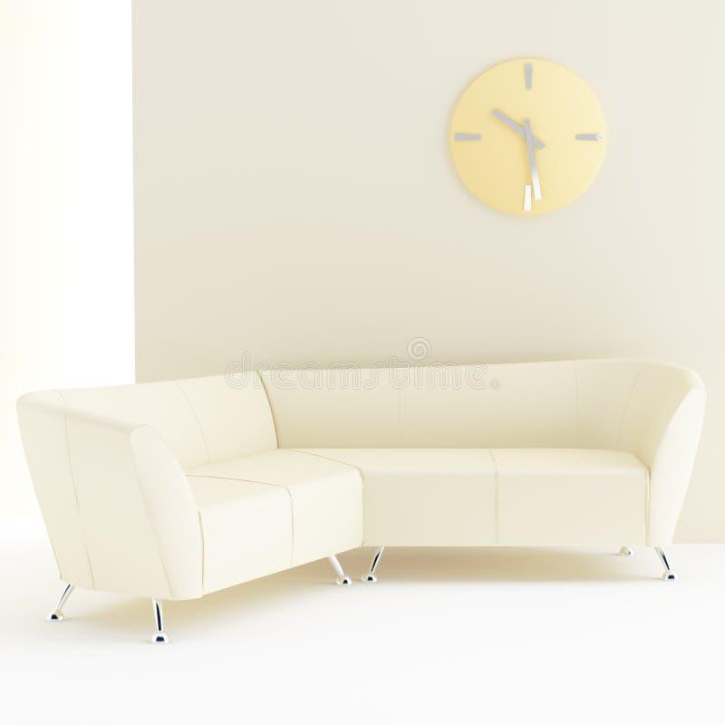 Interior amarillo claro libre illustration