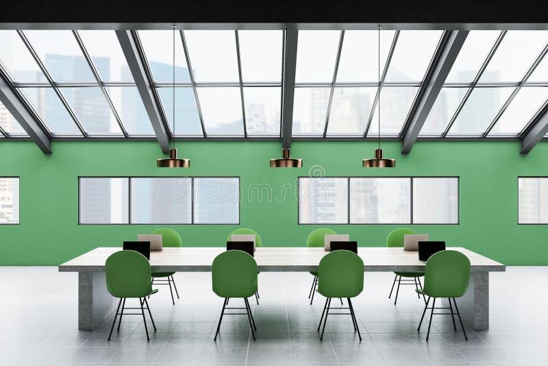Roof Office Interior Stock Illustration Illustration Of Design 75711274