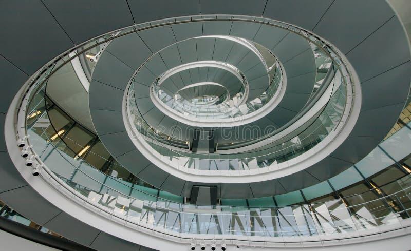 Interior ayuntamiento Londres imagen de archivo