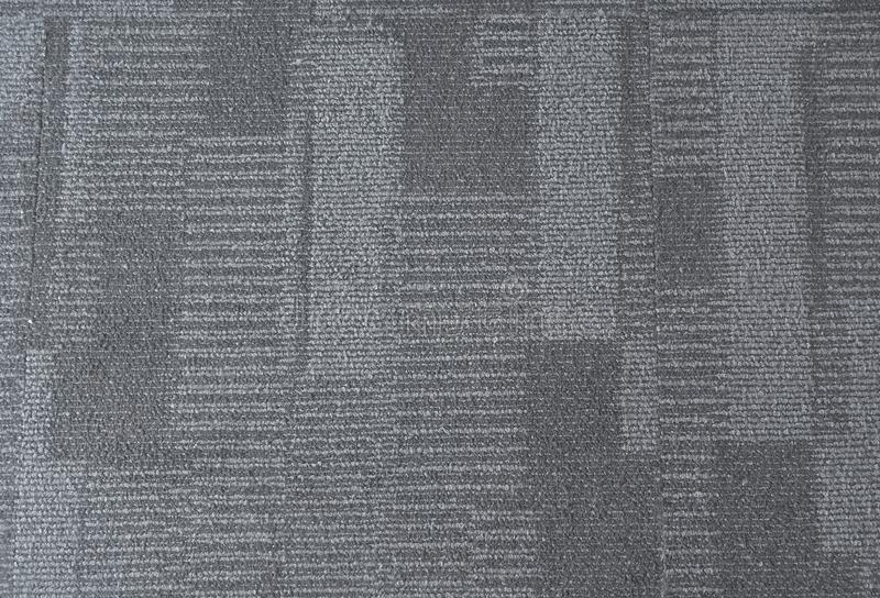 Interior azul del modelo de la alfombra de la oficina fotografía de archivo libre de regalías