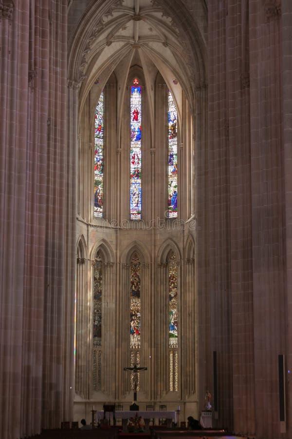 Download Interior Of Batalha, Portugal Stock Image - Image: 27059209