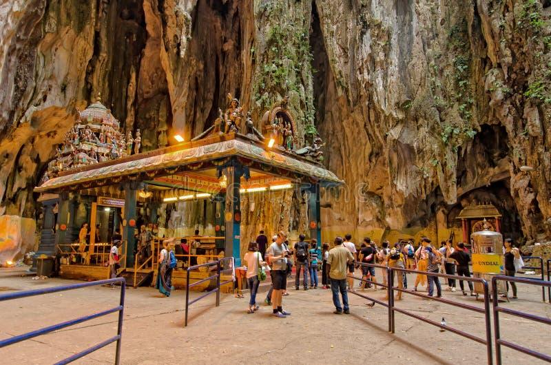 Interior of the Batu Caves Kuala Lumpur,Malaysia royalty free stock images
